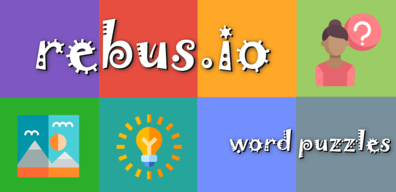 Rebus inside out - a new kind of word puzzle game